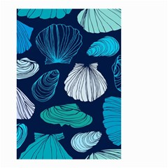 Mega Menu Seashells Small Garden Flag (two Sides)