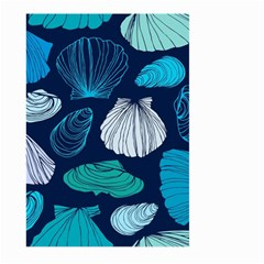 Mega Menu Seashells Large Garden Flag (two Sides)