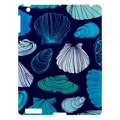 Mega Menu Seashells Apple Ipad 3/4 Hardshell Case