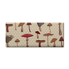 Mushroom Madness Red Grey Brown Polka Dots Cosmetic Storage Cases