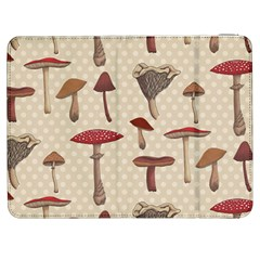 Mushroom Madness Red Grey Brown Polka Dots Samsung Galaxy Tab 7  P1000 Flip Case