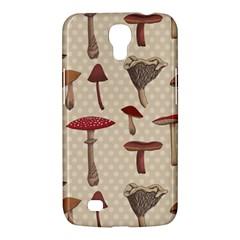 Mushroom Madness Red Grey Brown Polka Dots Samsung Galaxy Mega 6 3  I9200 Hardshell Case