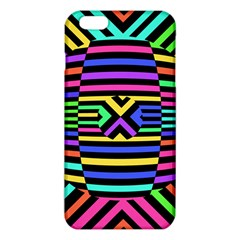 Optical Illusion Line Wave Chevron Rainbow Colorfull Iphone 6 Plus/6s Plus Tpu Case