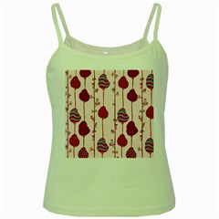 Original Tree Bird Leaf Flower Floral Pink Wave Chevron Blue Polka Dots Green Spaghetti Tank