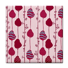 Original Tree Bird Leaf Flower Floral Pink Wave Chevron Blue Polka Dots Face Towel