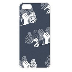 Japan Food Sashimi Apple Iphone 5 Seamless Case (white)