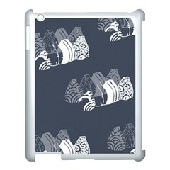 Japan Food Sashimi Apple Ipad 3/4 Case (white)
