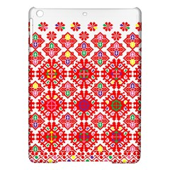 Plaid Red Star Flower Floral Fabric Ipad Air Hardshell Cases