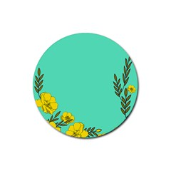 A New Day Rubber Round Coaster (4 Pack)