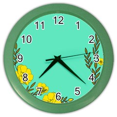 A New Day Color Wall Clocks