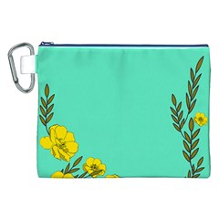 A New Day Canvas Cosmetic Bag (xxl)