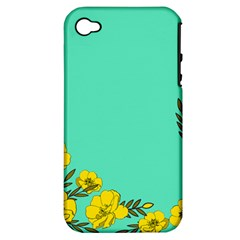 A New Day Apple Iphone 4/4s Hardshell Case (pc+silicone)
