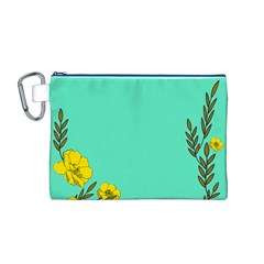 A New Day Canvas Cosmetic Bag (m)