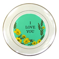 A New Day Porcelain Plates