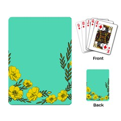 A New Day Playing Card