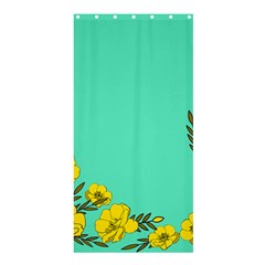 A New Day Shower Curtain 36  X 72  (stall)