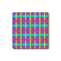 Stripes And Dots                           Magnet (square)
