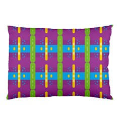 Stripes And Dots                           Pillow Case