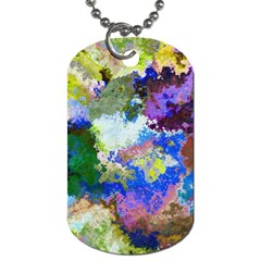 Color Mix Canvas                           Dog Tag (one Side)