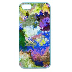 Color Mix Canvas                     Apple Seamless Iphone 5 Case (clear)