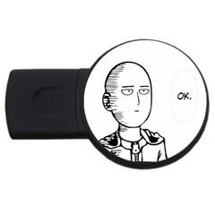 Saitama Usb Flash Drive Round (4 Gb)