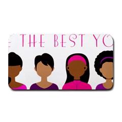 Black Girls Be The Best You Medium Bar Mats