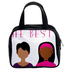 Black Girls Be The Best You Classic Handbags (2 Sides)