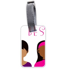 Black Girls Be The Best You Luggage Tags (two Sides)