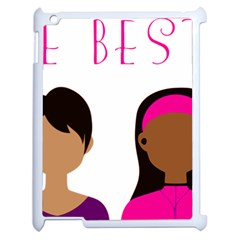 Black Girls Be The Best You Apple Ipad 2 Case (white)