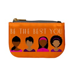 Black Girls Be The Best You Mini Coin Purses