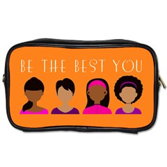 Black Girls Be The Best You Toiletries Bags