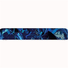 Pattern Butterfly Blue Stone Small Bar Mats
