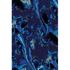 Pattern Butterfly Blue Stone 5 5  X 8 5  Notebooks