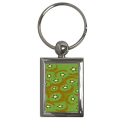 Relativity Pattern Moon Star Polka Dots Green Space Key Chains (rectangle)