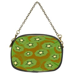 Relativity Pattern Moon Star Polka Dots Green Space Chain Purses (two Sides)