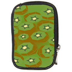 Relativity Pattern Moon Star Polka Dots Green Space Compact Camera Cases