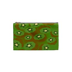 Relativity Pattern Moon Star Polka Dots Green Space Cosmetic Bag (small)