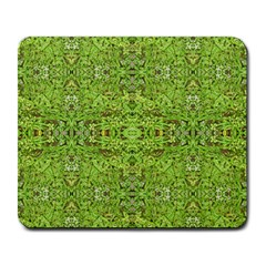 Digital Nature Collage Pattern Large Mousepads