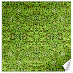 Digital Nature Collage Pattern Canvas 12  X 12