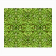 Digital Nature Collage Pattern Small Glasses Cloth (2 Side)