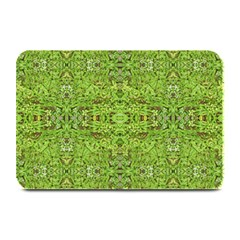 Digital Nature Collage Pattern Plate Mats