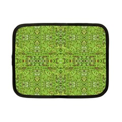 Digital Nature Collage Pattern Netbook Case (small)