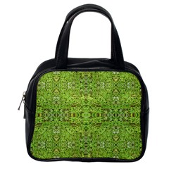 Digital Nature Collage Pattern Classic Handbags (one Side)