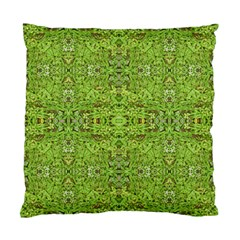 Digital Nature Collage Pattern Standard Cushion Case (one Side)