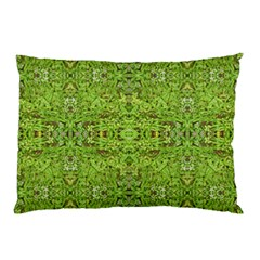Digital Nature Collage Pattern Pillow Case