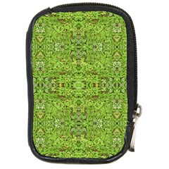 Digital Nature Collage Pattern Compact Camera Cases