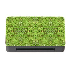 Digital Nature Collage Pattern Memory Card Reader With Cf