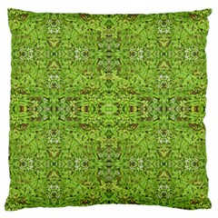 Digital Nature Collage Pattern Large Cushion Case (two Sides)