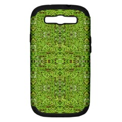 Digital Nature Collage Pattern Samsung Galaxy S Iii Hardshell Case (pc+silicone)