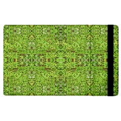 Digital Nature Collage Pattern Apple Ipad 2 Flip Case